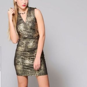 Collective Concepts Metallic Dress